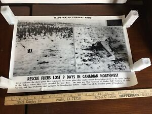 Illustrated Current News Photo - Rescue Crew Lost Canadian Northwest Yukon