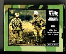 VERLINDEN 1392 - AFRIKA KORPS FOREIGN VOLUNTEERS INDIA (2 Fig) - 1/35 RESIN KIT