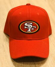 SAN FRANCISCO 49ERS NFL Patch Style Cap Hat 2019 RED Adjustable NFC CHAMPIONS