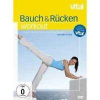 ANIMYSTIC BAUCH UND RÜCKEN WORKOUT DVD FITNESS NEU