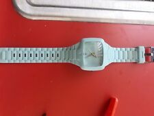 Nixon Aqua Blue Rubber Unisex Mens Womens The Player Japan Watch Wristwatch