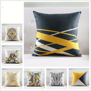 Nordic Style Cushion Cover Gray Decorative Pillows Geometric Cushions Covers