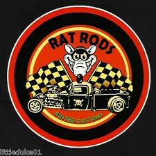 New listing Rat Rods Fink Sticker Decal Hot Rod Car Surfboard Surfing Panel Van Ute Truck Vw
