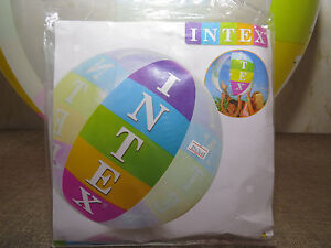"Inflatable beach ball 36"" by Intex #59060NP"