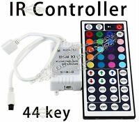 12V Out / Input 44 Key IR Remote Controller For 3258/5050RGB LED SMD Strip Light