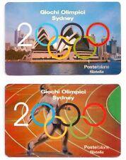 2000 Giochi Olimpici Sidney - Italia - tessere filateliche