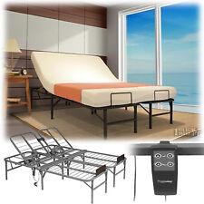 Electric Adjustable Head Lift Bed Frame Full Size Remote Control Platform Base