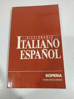 Diccionario Español Italiano Sopena 1993 - LIBRO Español - 2T