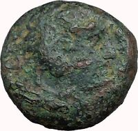 Alexander III the Great 336BC Ancient Greek Coin Hercules Bow Club i33649