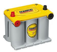 OPTIMA YELLOW TOP D75/25 BATTERY/LHP/650CCA/RC98/810CA/48AH/