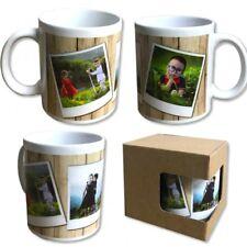 Tazza in ceramica polaroid frame idea regalo personalizzabile 3 foto .