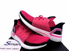 $180 NEW SIZE 6-10 WOMEN adidas ULTRA BOOST 19 Running Train Shoe Black Hot Pink