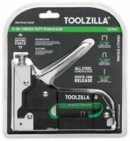 TOOLZILLA® Grapadora manual para trabajos pesados y paquete de selección de 600