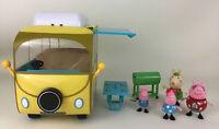 Peppa Pig Family Fun Camper Van Playset Rebecca George Vehicle 2003 Jazwares Toy