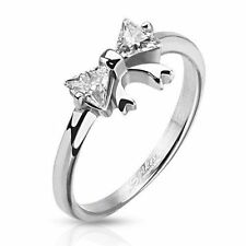 Unbranded Cubic Zirconia Band Stone Fashion Rings