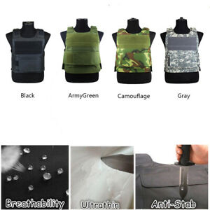Anti-Stab Knife Proof Vest Protecting Body Armour Defence Security Saft Guard