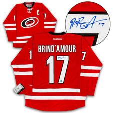 Rod Brind 'Amour Carolina Hurricanes firmado Reebok ® Premier Réplica Camiseta De Hockey