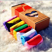 LOVE 7 Pairs Men's Lot Casual Dress Socks Cotton Ankle Week Crew Socks JYY