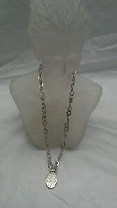 Stylish Lois Hill Bali Indonesia sterling 925 oval   pendant  toggle necklace