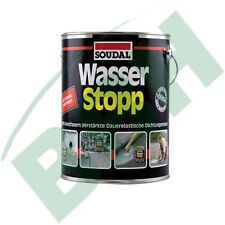 (11,13€/KG) SOUDAL Wasserstopp 4 KG  Dachabdichtung Wasserstop Dachdicht