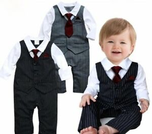 New 2 Piece Special Formal Occasion baby boy outfit birthday Christening wedding