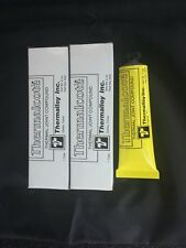 (1) One Thermalcote Thermal Grease for heat sink 2oz TUBE, Made in USA  57 g