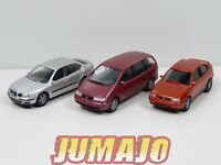 LOT HO1 voitures 1/87 HO HERPA SEAT Cordoba rouge, Alhambra bordeaux, Toledo