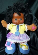 Fisher Price Little Peoples Shandra Doll African American Talking Teaching 14""