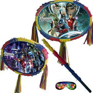 UK Smash party pinata man Avengers hulk thor captain iron america birthday game