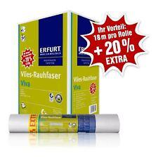 20% EXTRA – 3 Rollen Erfurt Vlies-Rauhfaser Viva 28,6 m² (0,91€/1qm)