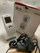 LG GB102 - White (Unlocked) Mobile Phone Boxed