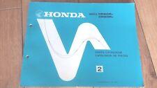 NOS HONDA ELSINORE CR 80 RA RB 1980-81 genuine parts catalogue 13-169-A12 CR80R