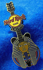 CAIRO ANCIENT EGYPT KING TUTANKHAMUN PHARAOH GOLD MASK GUITAR Hard Rock Cafe PIN