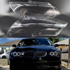 Car Headlamp Lens Cover fit for BMW E92 Coupe / E93 Cabrio Pair High