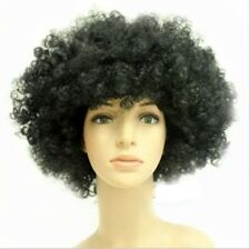 14 Colors Women Men Short Curly Afro Clown soccer fans Party Cosplay Ful Wigs