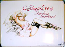 COURTNEY LOVE America's Sweetheart 2004 promo POSTER - OLIVIA DE BERARDINIS Hole