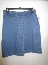 OLD NAVY JEANS BUTTON DOWN HIGH RISE SKIRTNEW WITH TAG