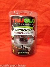 TRUGLO Micro-Tac Tactical Micro Laser #TG7630R-Red
