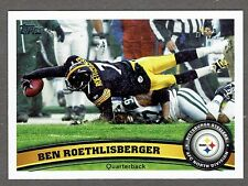 2011 Topps Football #90 Ben Roethlisberger Pittsburgh Steelers NMT