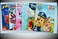 6PK Coloring Books Disney Themed for kids learning from home