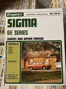 Sigma GE Series (1978-1980) Gregory's Service and Repair Manual No 116A