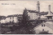 CARTOLINA MEL - BELLUNO - SAN PIETRO - PRIMISSIMI DEL 900 - #13