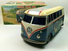 Volkswagen VW School Bus Friction Tin toy 22cm, Daiya, Japan, Box, Works NM