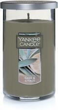 Perfect Pillar Candle, Yankee Candle, 12 oz Sage & Citrus