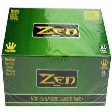 Zen Smoke King Size Menthol Flavored Cigarette Tubes 200ct