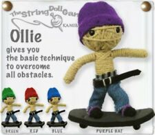 Ollie The Scateboarder The Kamibashi String Doll Gang Key Chain RED