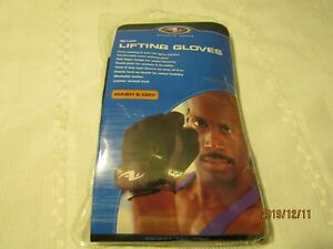 Men's small Weight Lifting Gloves Workout Training  washable leather.  G3