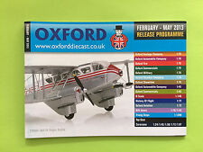 Oxford Diecast Catalogue (Feb 2013 - May 2013) Mint Condition