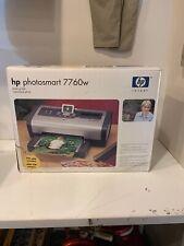 HP Photosmart Digital Photo Inkjet Printer 7760w NEW IN SEALED BOX