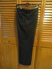 Wrangler VF jeans wear, dress men's pants 44 x 30, wool/polyester, black,cuffs